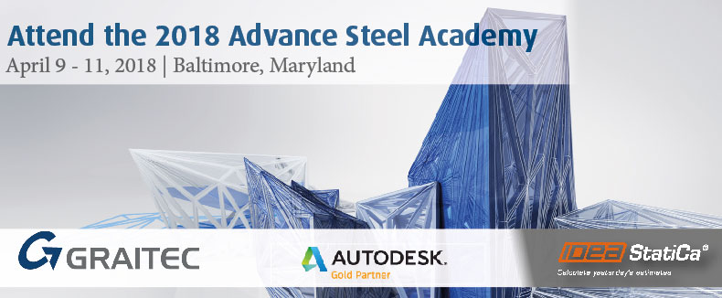 UserGroup Advance Steel Academy 2018 3