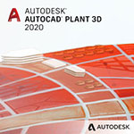 autocad plant 3d 2020 badge 150px opt