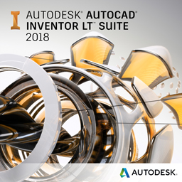 autocad inventor lt suite 2018 badge 256px