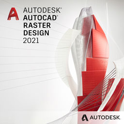 autocad raster design 2021 badge 256px opt