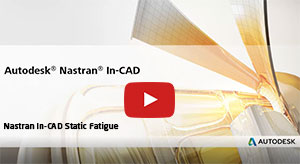 Nastran static fatigue