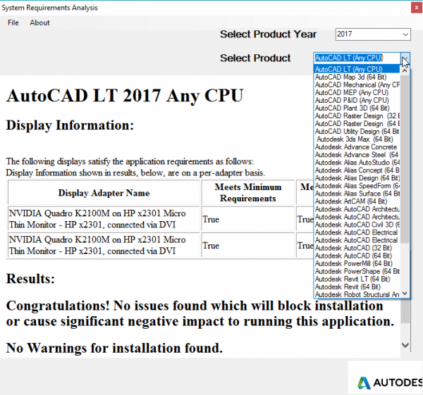 Autodesk Prerequisite Checker - Graitec USA Blog