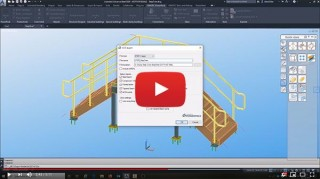 Export Advance Steel to Inventor STEP or IGES File Format
