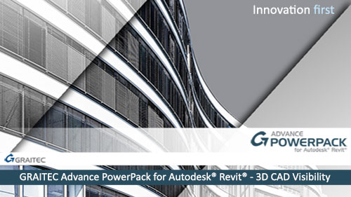 GRAITEC Advance PowerPack for Revit - 3D CAD Visibility