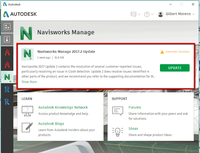 Navisworks Update