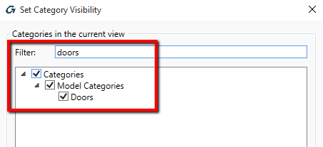 Set Category Visibility