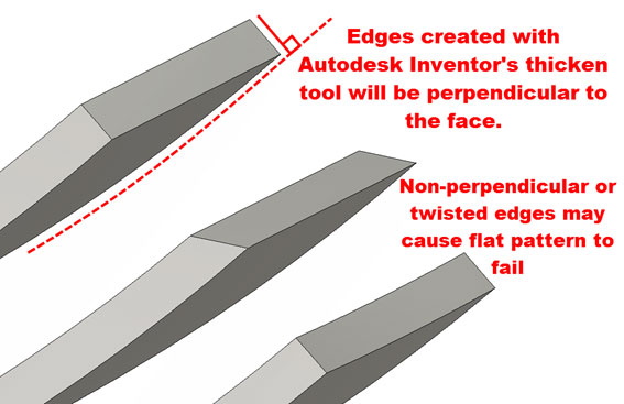 Autodesk Inventor Sheet Metal, Flat pattern success – Every