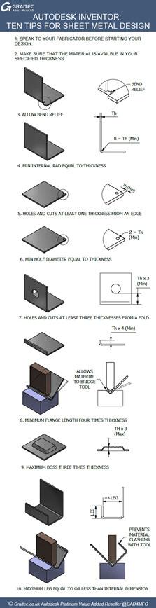 Autodesk Inventor Sheet Metal Flat Pattern Success