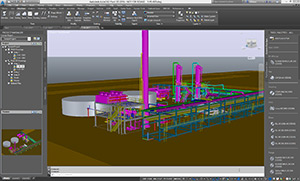 Autocad plant 3d training screenshot